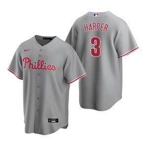 Youth Philadelphia Phillies #3 Bryce Harper Jersey